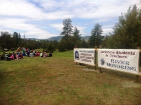 The Confederated Salish and Kootenai Tribes Annual River Honoring this year brought more than 1,000 4th and 5th graders from across the reservation and beyond to the Lower Flathead River.
