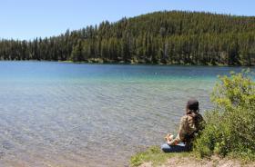 Heart Lake lunch
