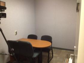 Missoula police department interview room