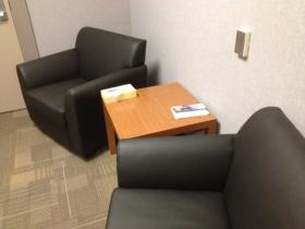 "New Missoula police department ""soft"" interview room"