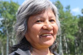 Nekaneet Cree elder, Linda Oakes