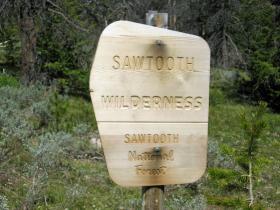 Idaho's Sawtooth Wilderness. (CC-BY-NC)