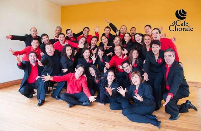El Café Chorale from Costa Rica, conducted by David Ramírez