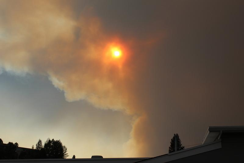 Lolo Creek Complex fire blowing up Tuesday evening