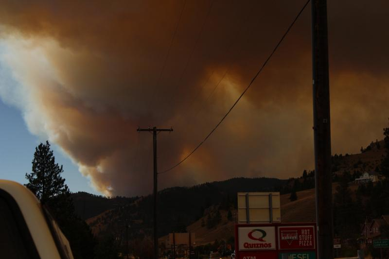 Lolo Creek Complex blowup