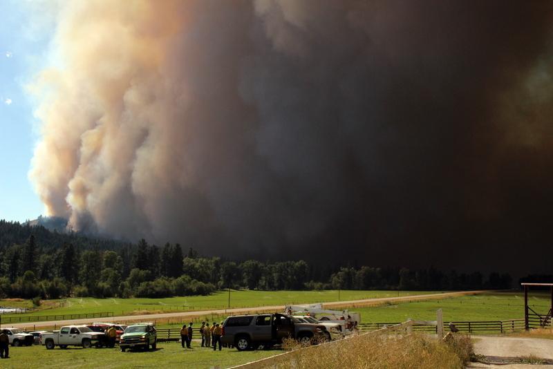 Lolo Creek Complex fires merging across Highway 12
