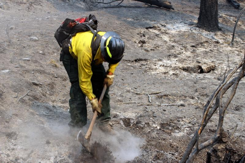 Digging out hot spots