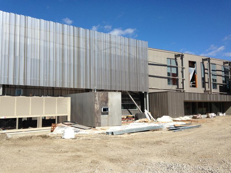 Billings city library under construction