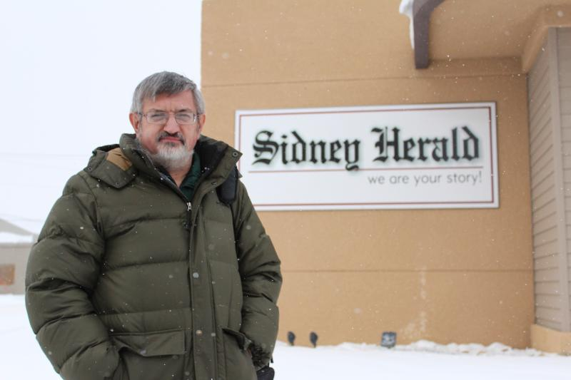 Sidney Herald Editor Bill Vanderwheele has been at the paper for almost 30 years and has seen a dramatic shift in the stories he covers since the start of the Bakken Boom.