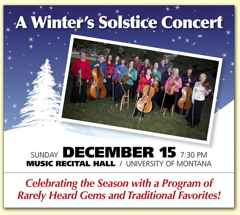 String Orchestra of the Rockies presents A Winter's Solstice Concert