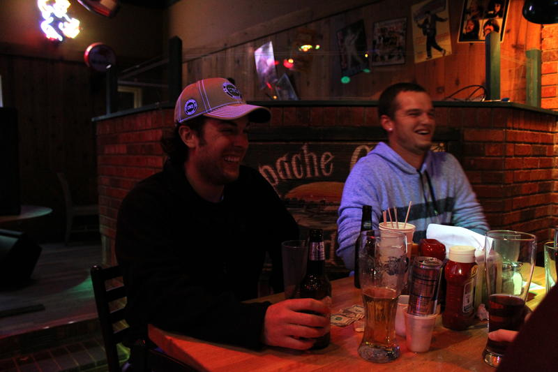 Williston, ND native Nathan Kleyer (left) said prostitutes are available in the Bakken for people who know where to look.