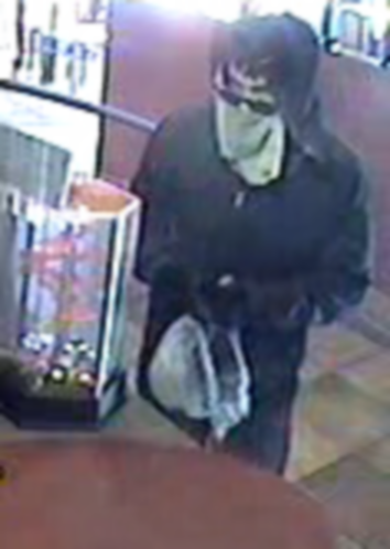 Robbery suspect photo from Taco Bell