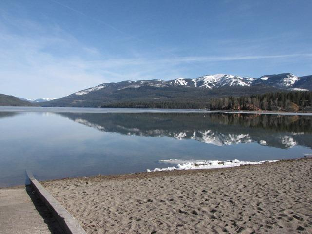 Whitefish Lake. 75% of the municipal water supply for Whitefish comes from Haskill Basin. In the summer, when that supply runs low, the city pumps and treats water from Whitefish Lake.