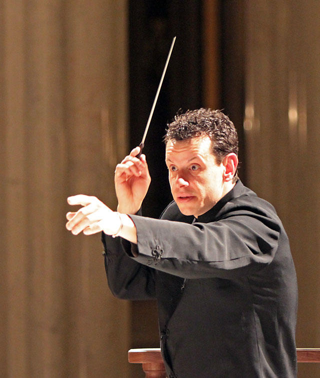 Allan R. Scott, music director and conductor of the Helena Symphony.