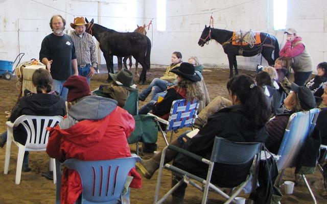"The recent Horse Packing workshop is one of several of MT FWPs ""Becoming an Outdoorswoman"" workshops.."