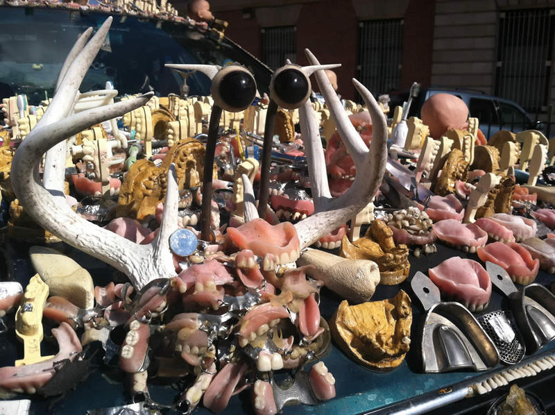 "Car creator Rex Rosenburg says ""The ChewBaru"" has driven almost 90,000 miles, through 38 states since first gumming into the Houston art car parade in 2006."