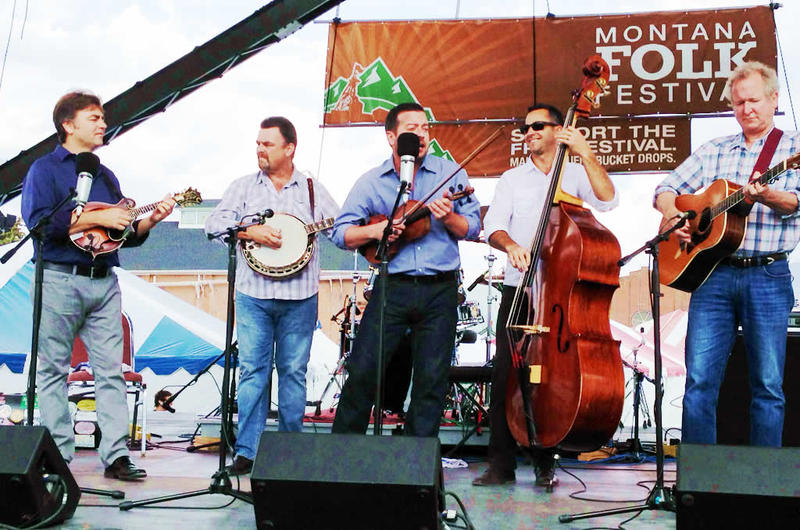 The Travelin' McCourys at the 2014 Montana Folk Festival