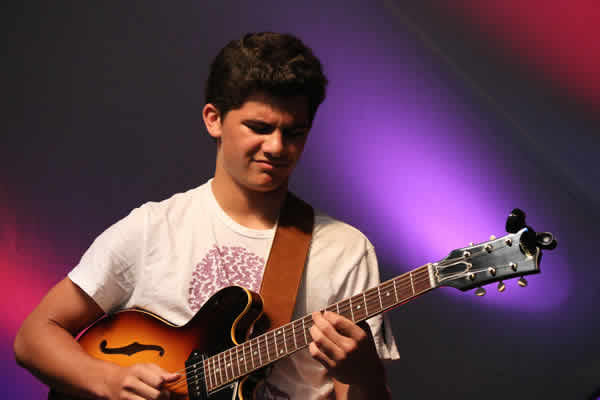 Josh Achrion, a 16 year-old guitarist from Georgia was one of the opening acts.