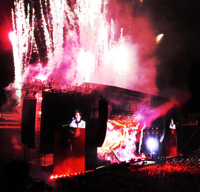 Music, lights and fireworks, this show was a true spectacle