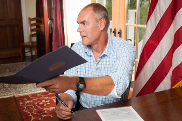 Rep. Ryan Zinke is President-elect Trump's nominee for secretary of the Interior.