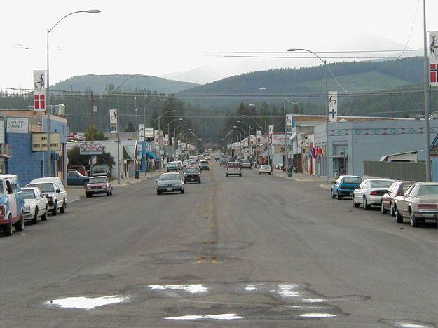 Downtown Libby, MT.