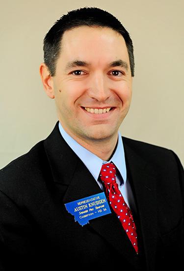 Montana House Speaker Austin Knudsen (R)