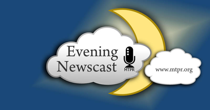 MTPR evening newscast.