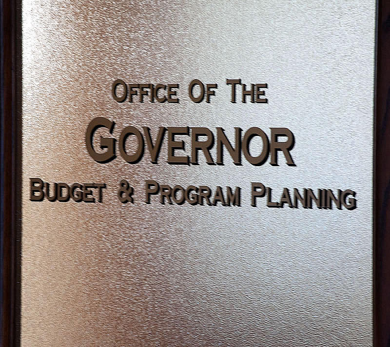 Office of the governor, budget and program planning.