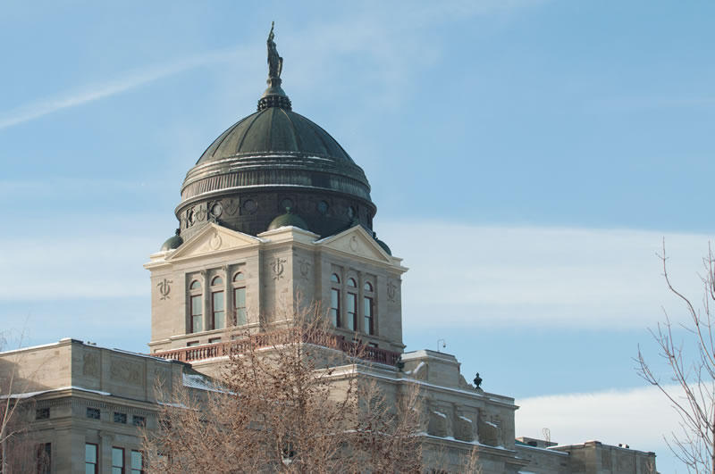 Montana Capitol, Helena, MT.