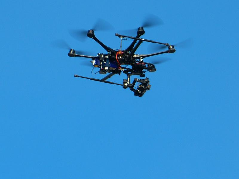 An unmaned aerial vehicle, also known as a drone. File photo.