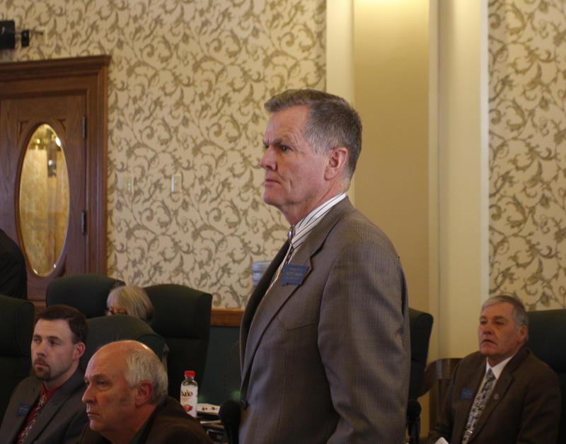 State Senator Scott Sales (R).