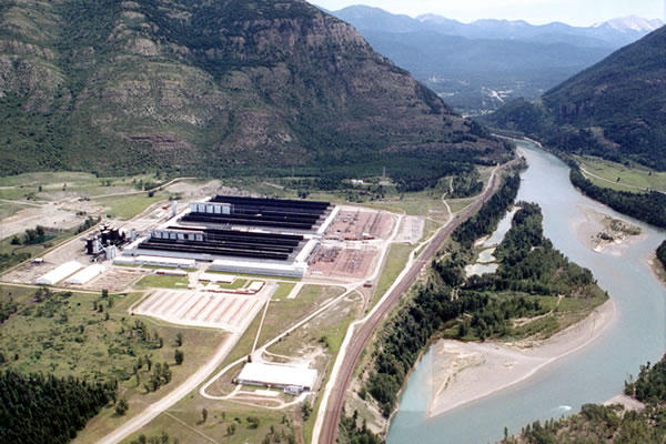 The Environmental Protection Agency today designated the former Columbia Falls Aluminum Company as an official Superfund site.