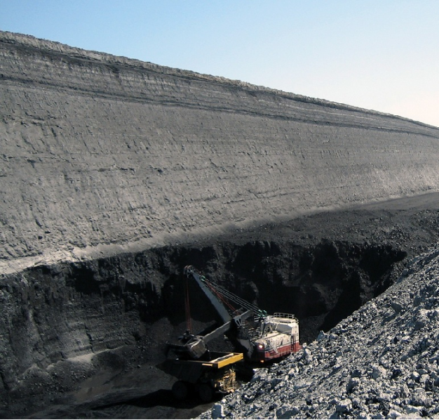 A Coal Mine in the Powder River basin