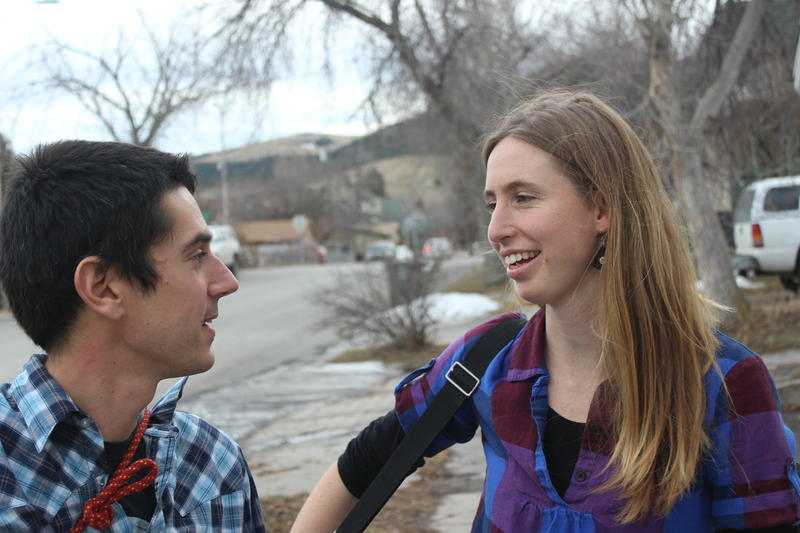 Johanna Davis and Adam Nordell