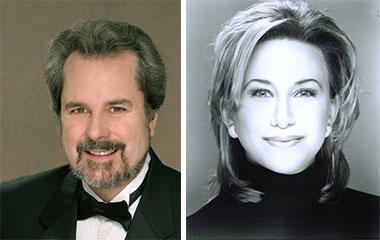 Charles Robert Stephens, Baritone. Kerri Marcinko, Soprano.