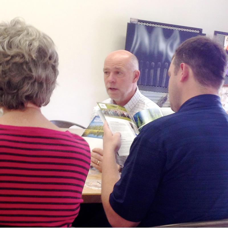 Greg Gianforte speaking to the Conrad, Montana Chamber of Commerce