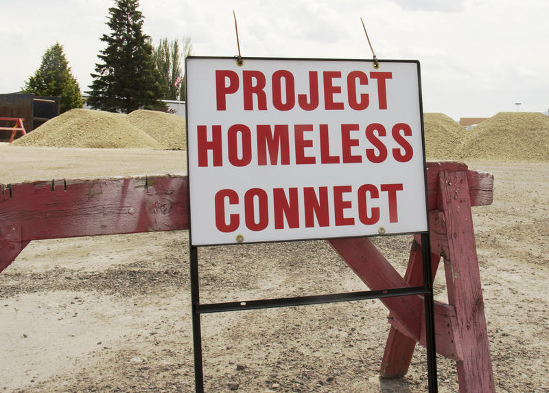 The 6th annual Project Homeless Connect ran Wednesday at the Flathead County Fairgrounds from 11:00 am to 7:00 pm.