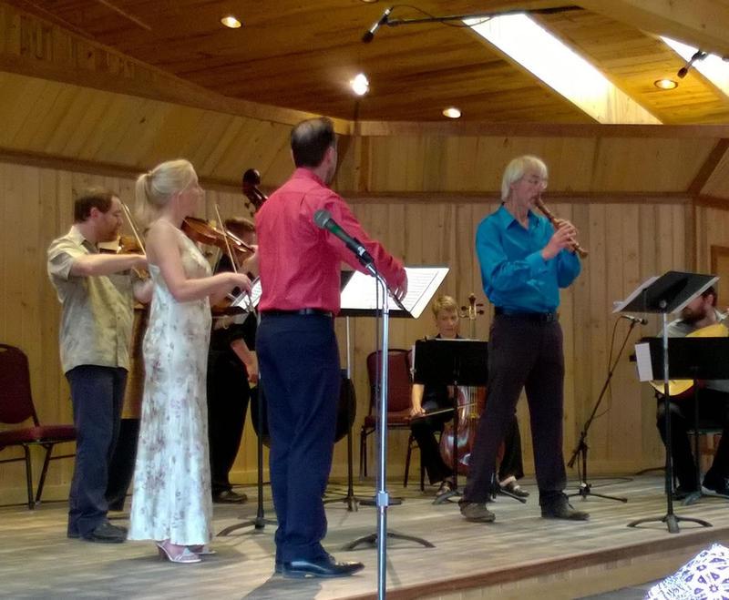 Matthias Maute playing virtuoso Vivaldi at the Montana Baroque Music Festival.