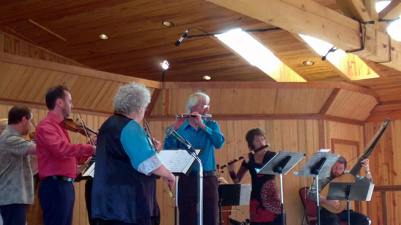 Playing the music of Bach and his sons at the Montana Baroque Festival in Paradise, MT