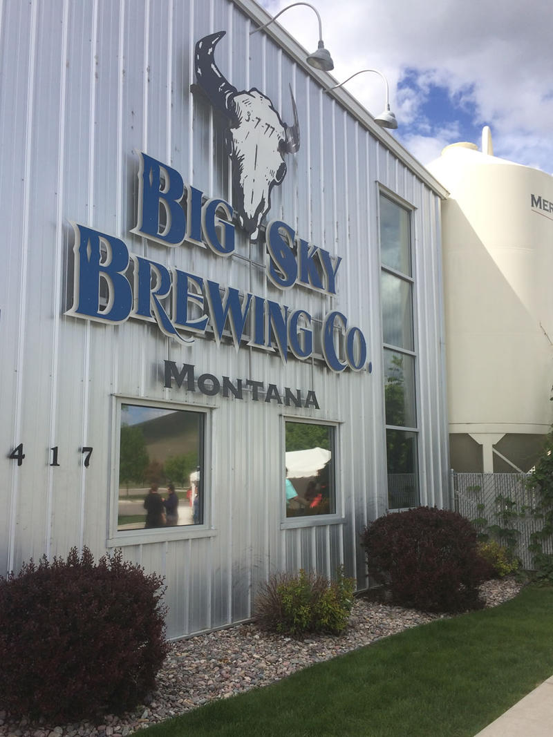Big Sky Brewery, Missoula Montana.