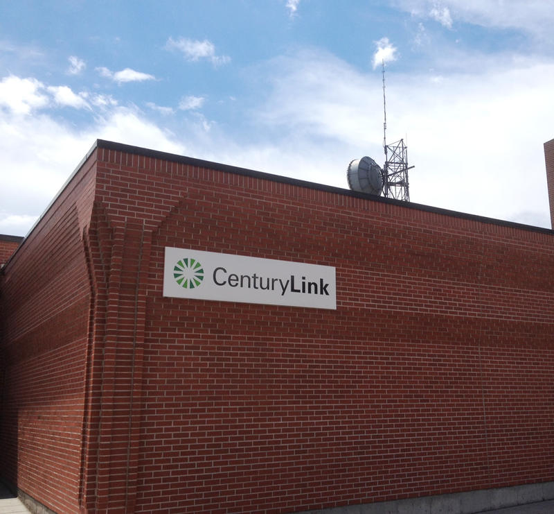 CenturyLink building in Butte.