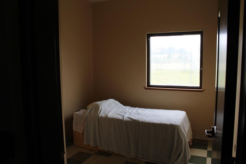 A client bedroom at the Assessment and Stabilization Unit (ASU).