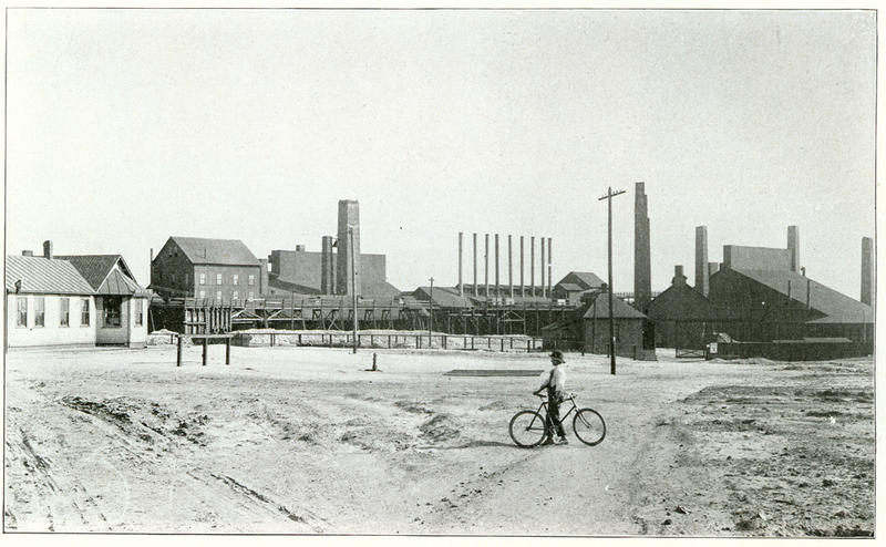 The Parrot Smelter operated between 1891 and 1899