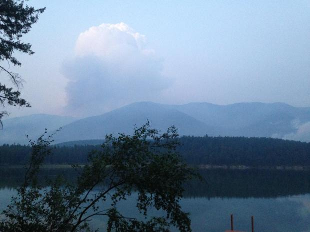 The Marston Fire on the Kootenai National Forest