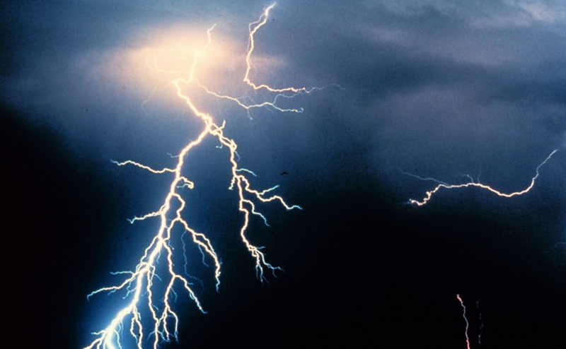 Lightning Photo: Courtesy of NOAA