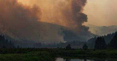 3 fires burning near Noxon have prompted evacuations orders along Highway 56, and filled the air with smoke.