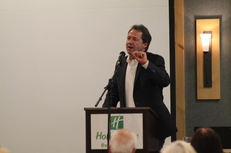 Governor Steve Bullock addressed delegates at the state Democratic convention over the weekend.