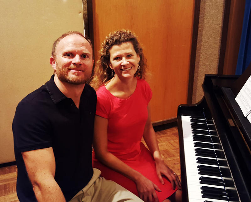 Chris Hahn and Karen Beres are the CanAm Piano Duo