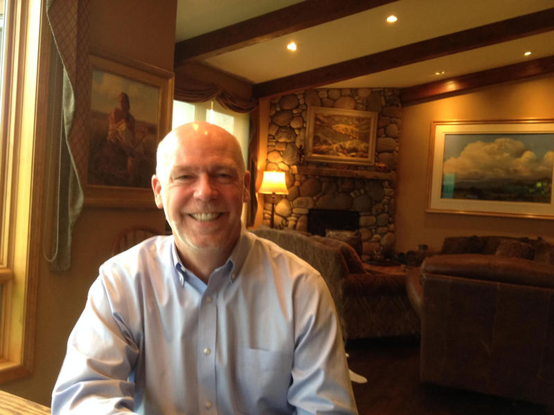 Greg Gianforte at his home in Bozeman