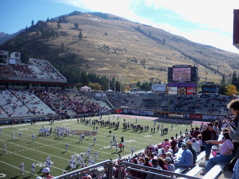 Griz football game at the University of Montana